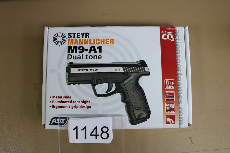 Steyr Mannlicher M9-A1 Steel BB 4.5 mm  Air Pistols