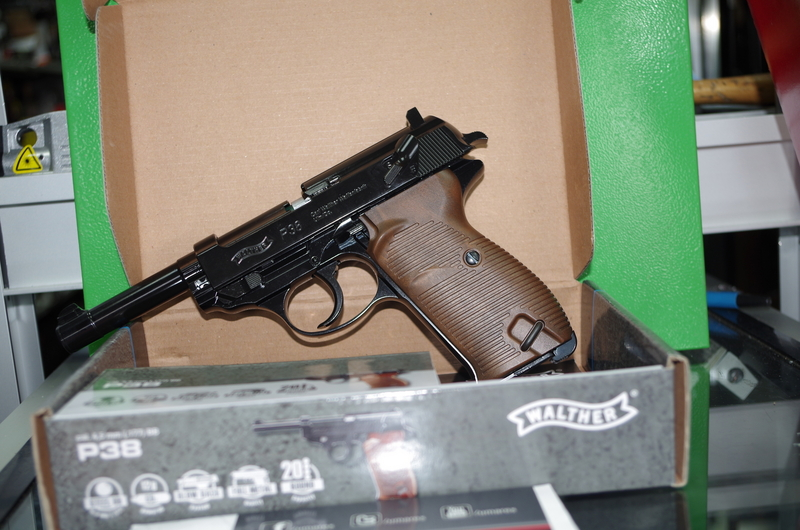 Walther P38 .177  Air Pistols