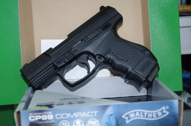 Walther CP99 Compact .177  Air Pistols