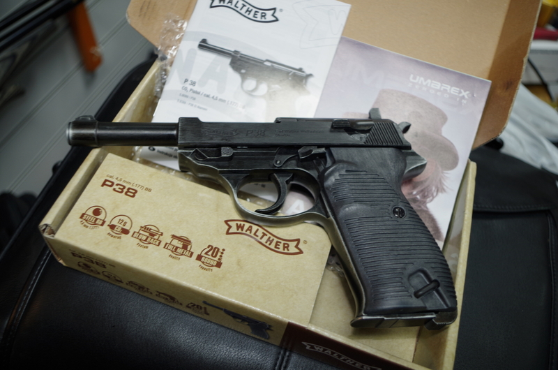 Walther P38 .177