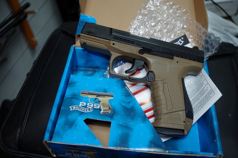 Walther P99 DAO .177