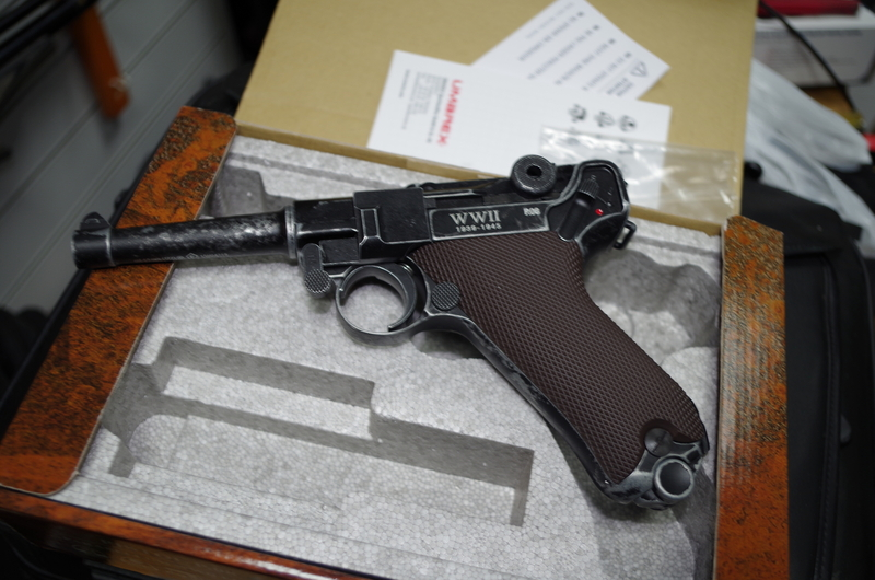 Walther Luger 9mm .177