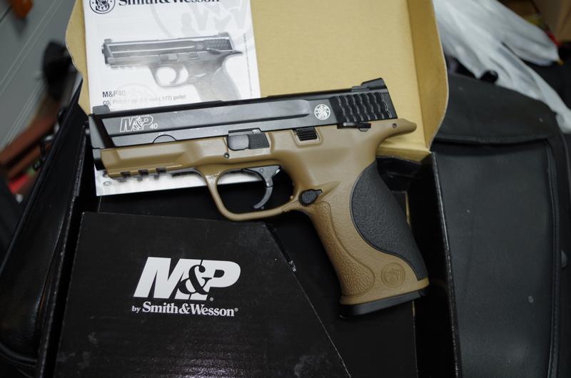 Smith & Wesson M&P 40 .177