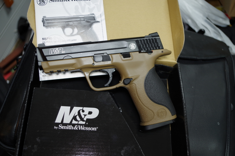 Smith & Wesson M&P 40 .177