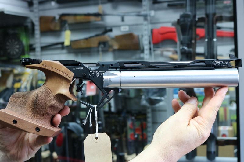 FWB P8X .177  Air Pistols