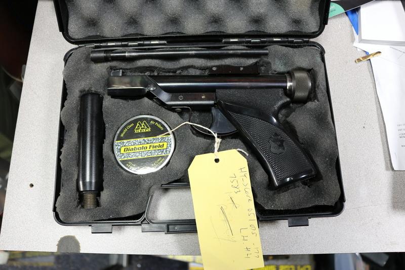 Hy-Score Arms Corporation Model 802 .177  Air Pistols