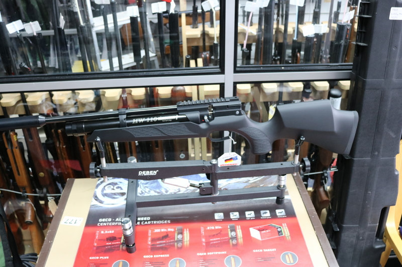 Weihrauch HW110 ST Soft-Touch-Finish   Air Rifles