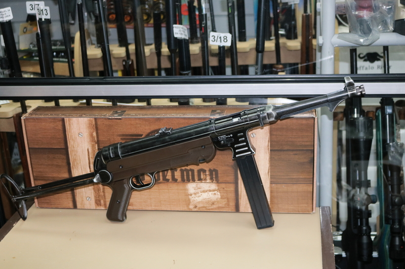 Umarex MP 40 German (Used Look)   Air Rifles