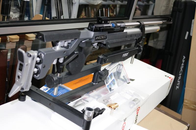 Anschutz 9015 ALU ANTH/BLK PRO .177  Air Rifles