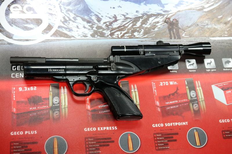 Webley / Webley & Scott Hurricane .22  Air Pistols