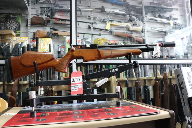 Prestige Air Gun Co Ltd LX-1 .22  Air Rifles