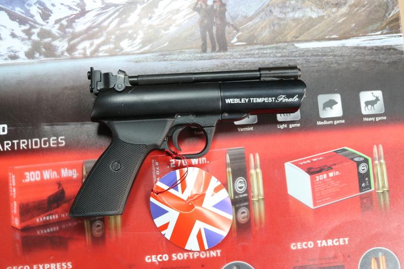 Webley / Webley & Scott Tempest Finale .177  Air Pistols