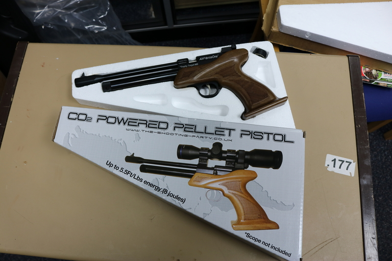 Air Force One Trophy MULTI-SHOT .177  Air Pistols