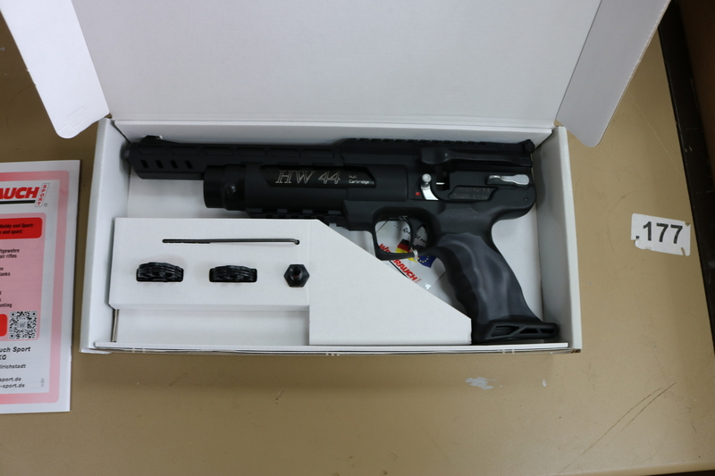 Weihrauch HW 44 .22  Air Pistols