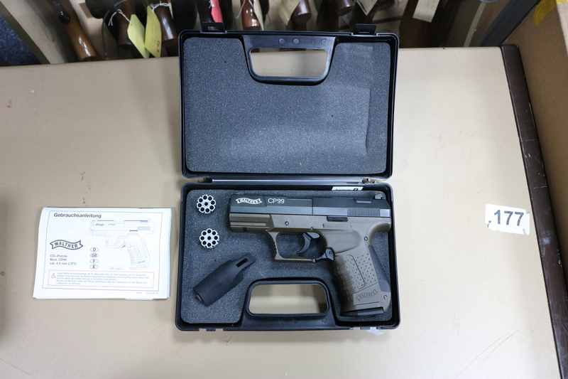 Walther CP99 Military .177  Air Pistols