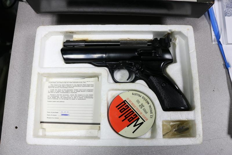 Webley / Webley & Scott Tempest .22  Air Pistols