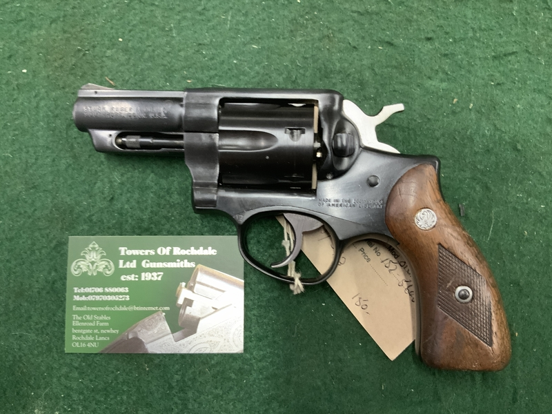 Ruger Speed six .357 Humane Killers