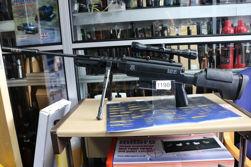Black Ops  .177  Air Rifles
