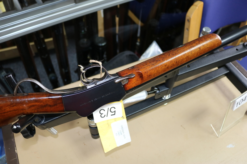 W Greener Birmingham Martini Miniature  Lever action .22  Rifles