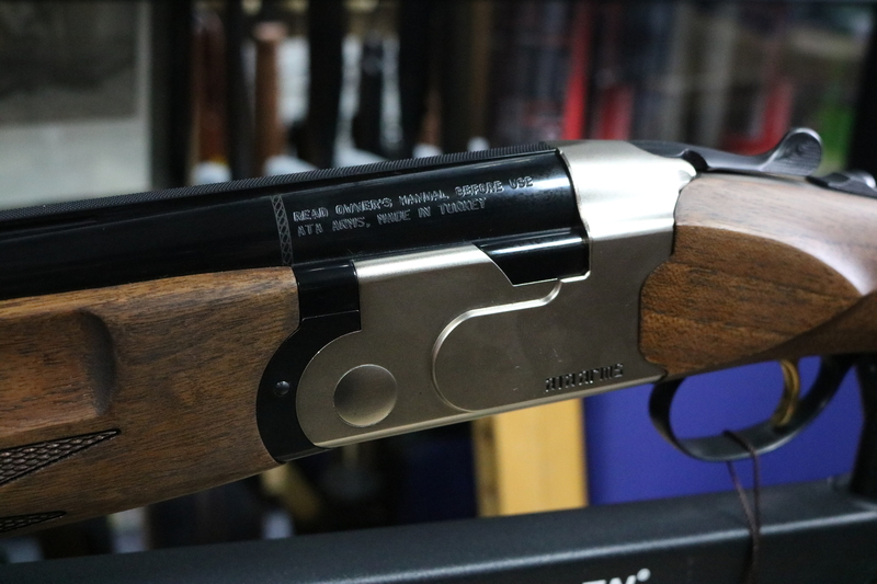 ATA Arms SP Nickel 12 Bore/gauge  Over and under