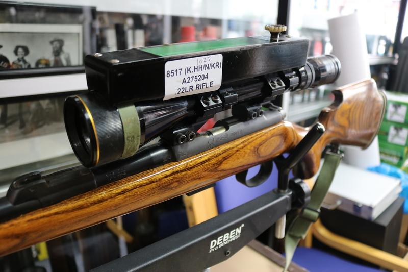 CZ  - Ceska Zbrojovka test 452-2E ZKM test1 Double rifle .170  Rifles