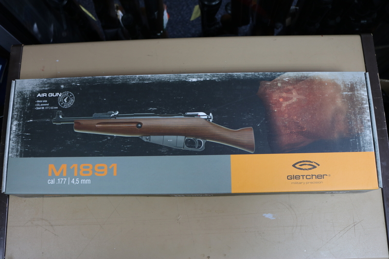 Gletcher M1891 4.5MM BB .177  Air Rifles