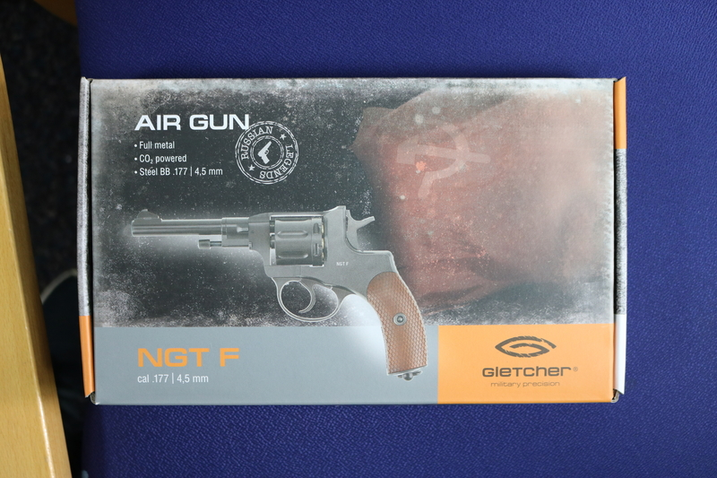 Gletcher NGT F 4.5MM Steel BB .177  Air Pistols