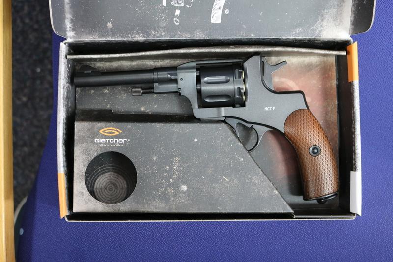 Gletcher NGT F 4.5MM Steel BB .177  Air Pistols
