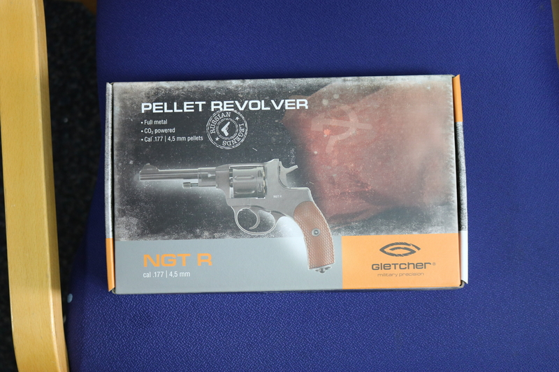 Gletcher NGT R  .177  Air Pistols