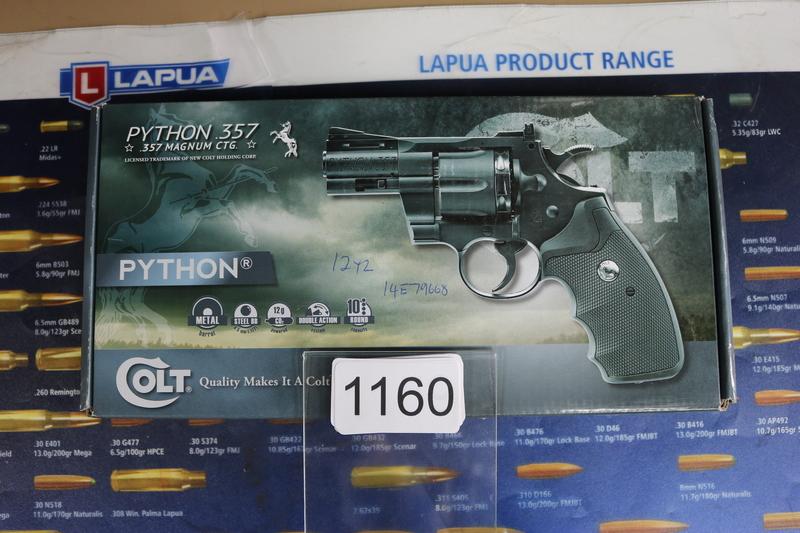"Umarex Colt Python .357 2.5"" 4.5 mm  Air Pistols"