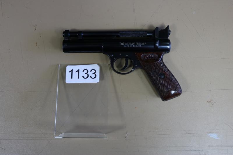 Webley Birmingham Premier B Model .22  Air Pistols