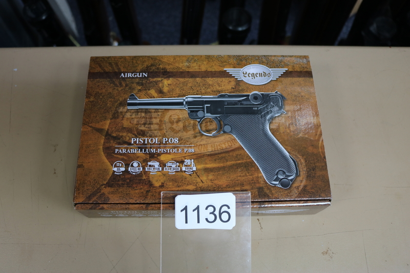 Umarex P.08 4.5mm Steel BB .177  Air Pistols
