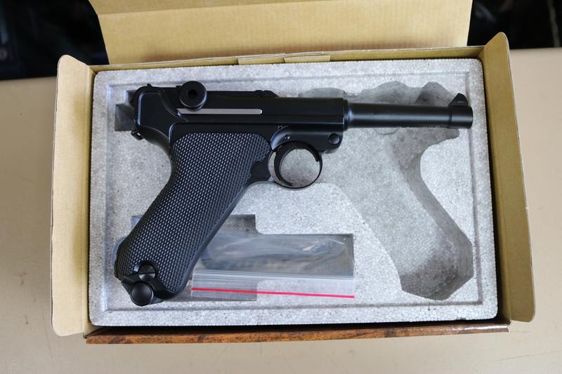 Umarex P.08 4.5mm Steel BB .177  Air Pistols