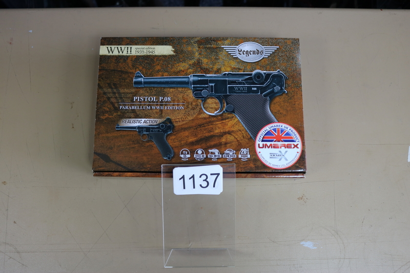 Umarex P.08 WW2 Edition 4.5 mm  Air Pistols
