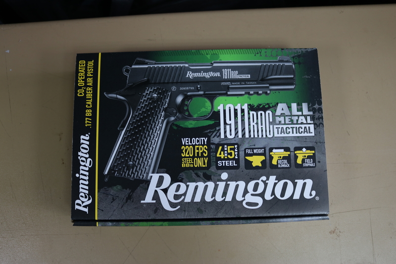Remington 1911 RAC All Metal Tactical Steel BB 4.5 mm  Air Pistols