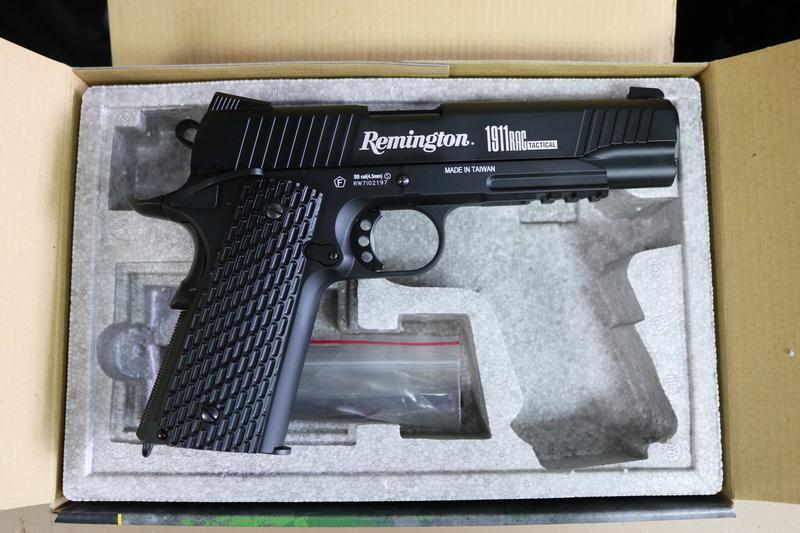 Remington 1911 RAC All Metal Tactical Steel BB 4.5 mm  Air Pistols