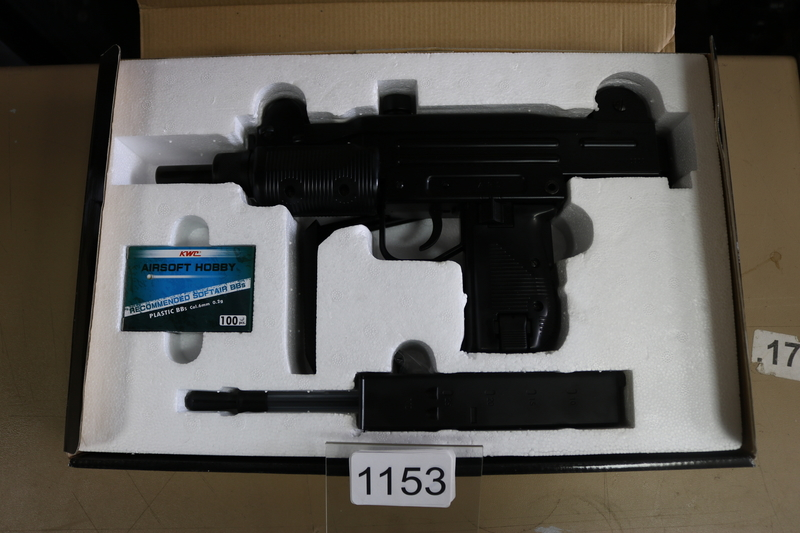 KWC Submachine Gun KCB-07HN 6 mm