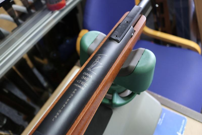 Diana 340 N TEC Premium Pro Compact .177  Air Rifles