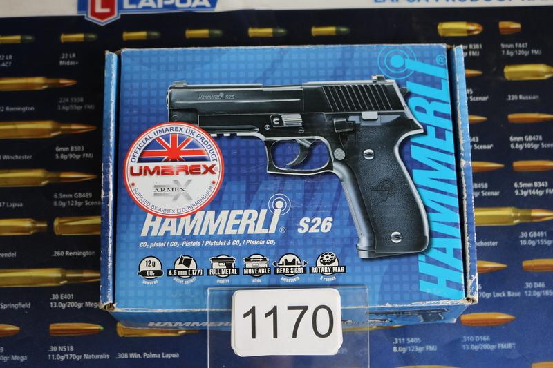 Umarex Hammerli S26 .177  Air Pistols