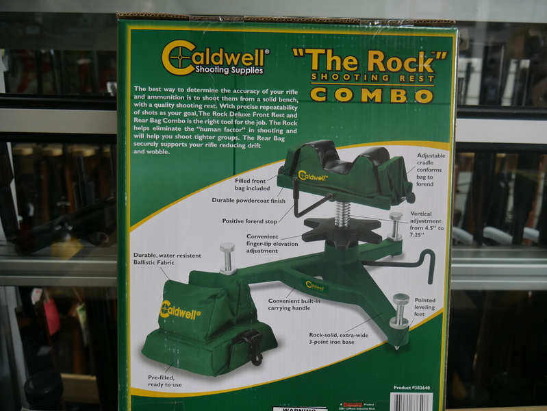 """Caldwell """"The Rock"""" Shooting Rest Combo"""