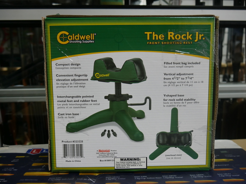 "Caldwell ""The Rock"" Jr Front Shooting Rest"