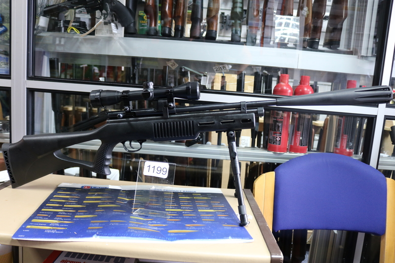 SMK - Sportsmarketing XS78 Tactical  .177  Air Rifles