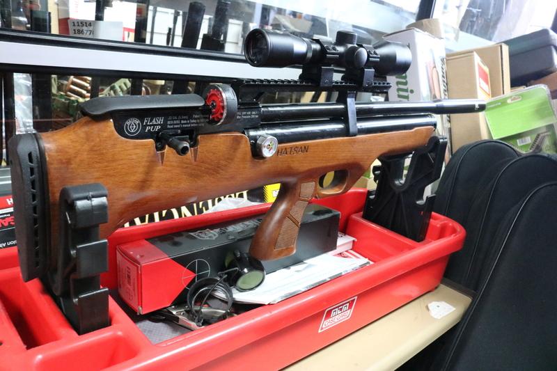 Hatsan Arms FLASHPUP .177  Air Rifles