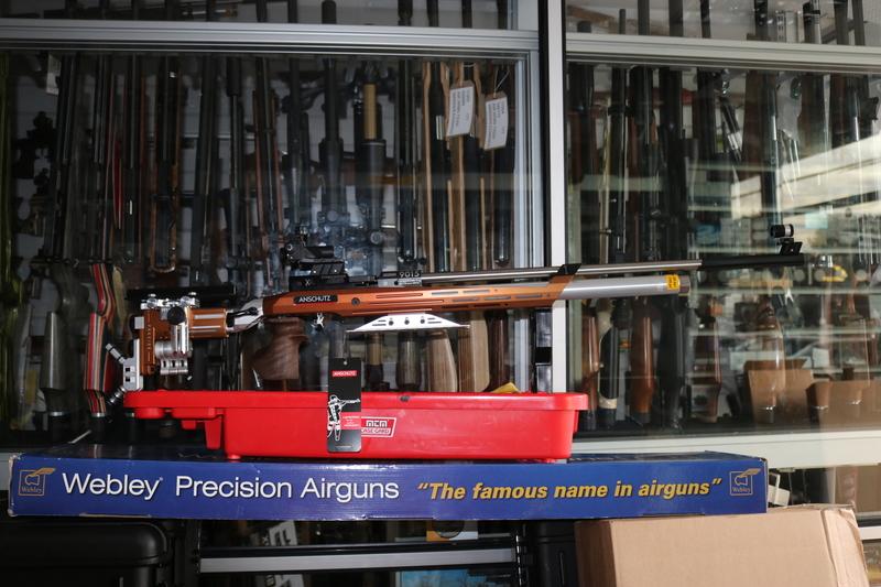 ansh PRECISE AIR MATCH .177  Air Rifles