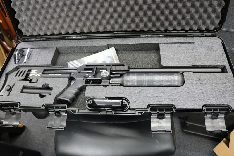 FX Airguns IMPACT SNIPER FAC .22  Air Rifles