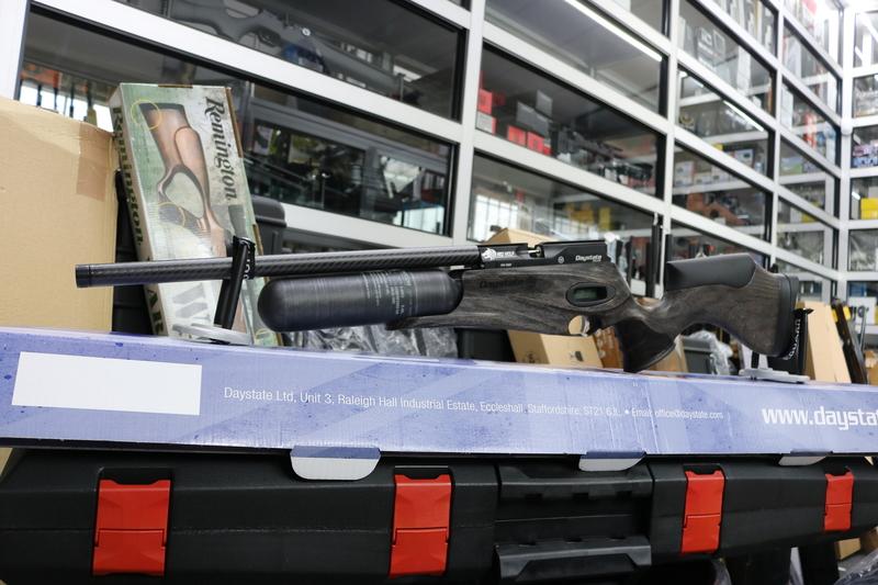 Daystate SAFARI. RED WOLF SAFARI .177  Air Rifles