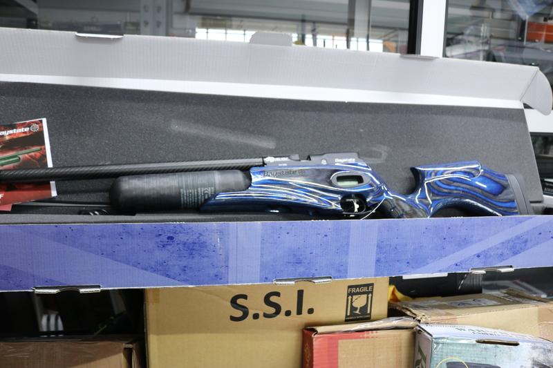 Daystate Red Wolf Blue Laminate .177  Air Rifles