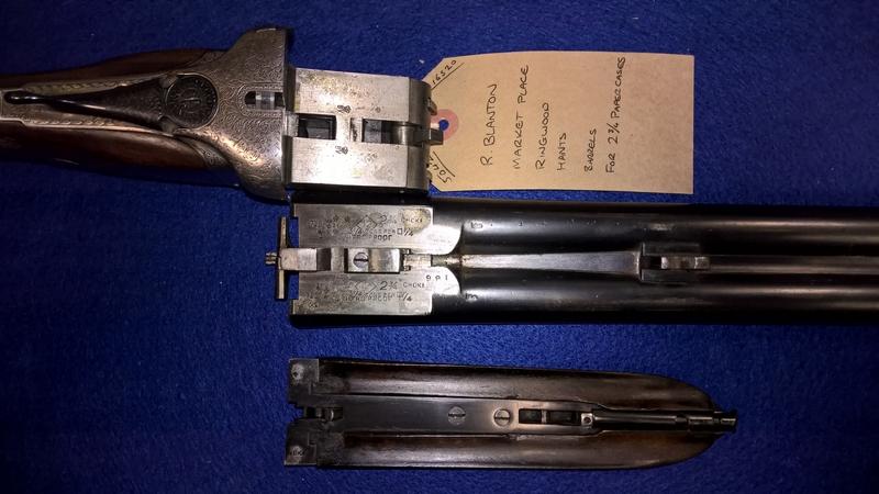 Blanton, R  12 Bore/gauge  Side By Side