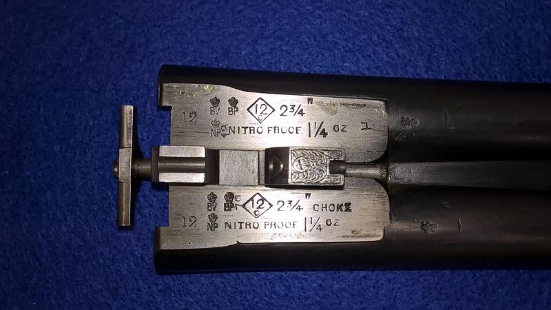 Greener, W.W.  12 Bore/gauge  Side By Side