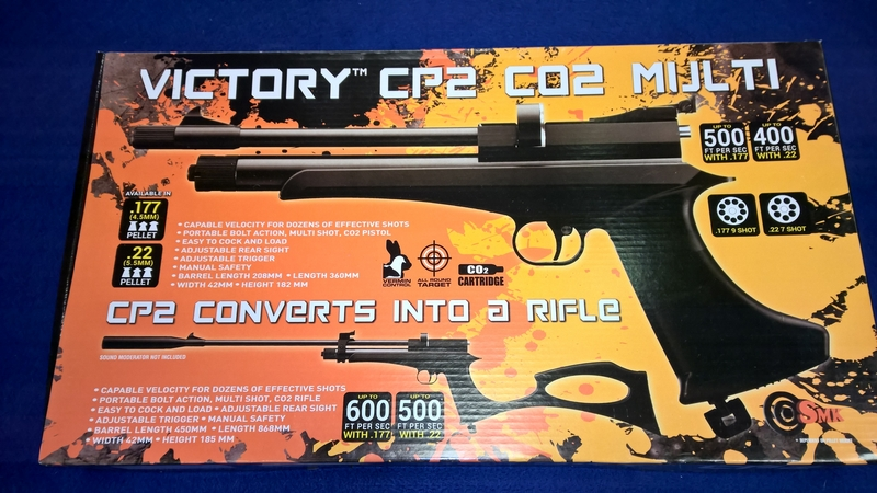Victory CP2 .22  Air Rifles